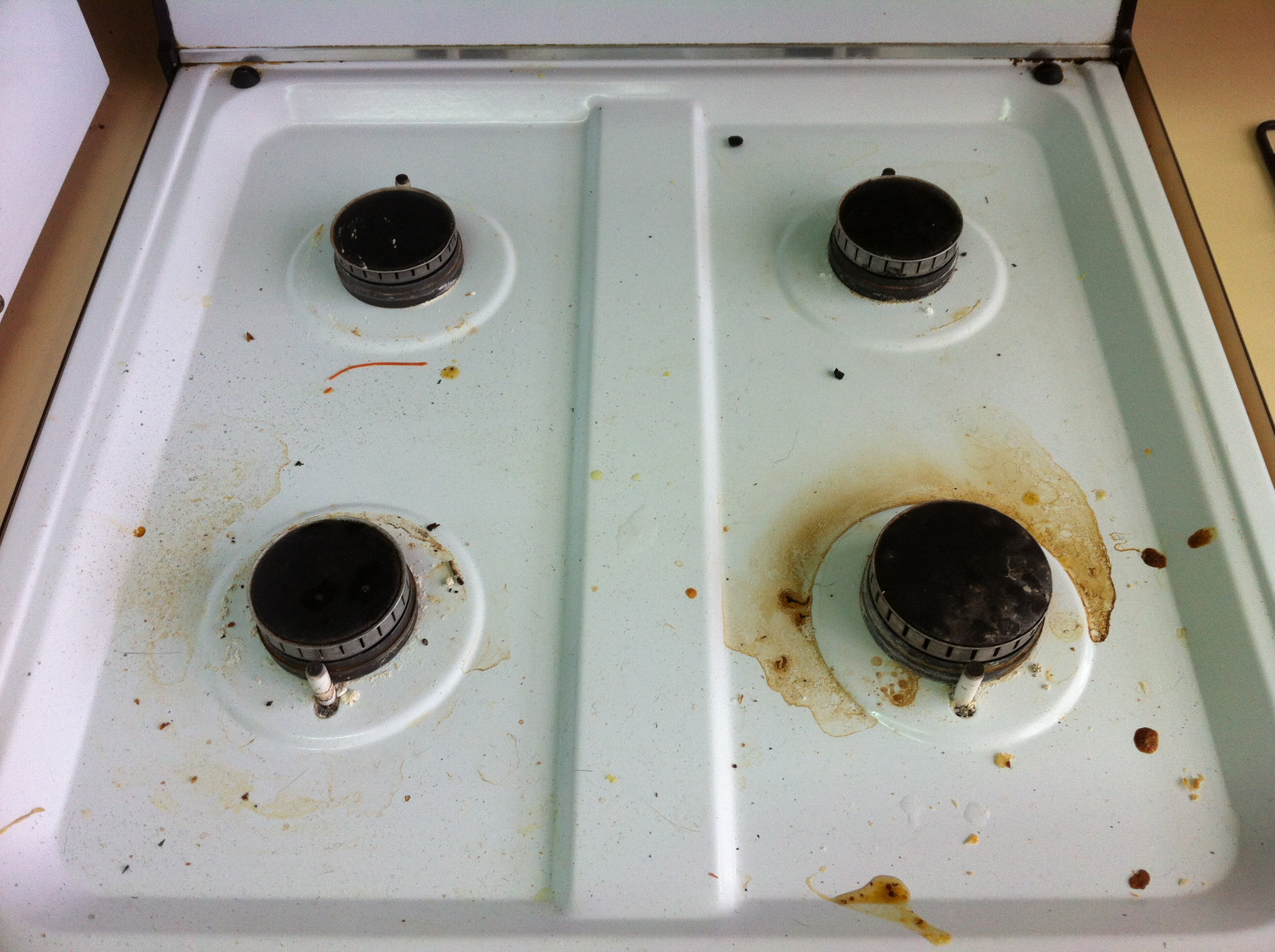 301 moved permanently How to clean top of oven
